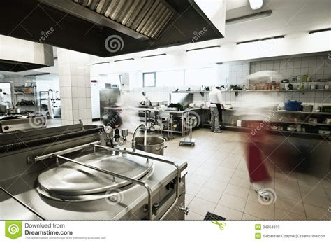 Industry Kitchen by Industrial Kitchen Stock Photo Image 34864810
