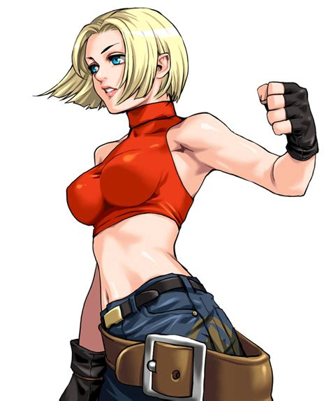 imagenes kof mujeres blue mary king of fighters