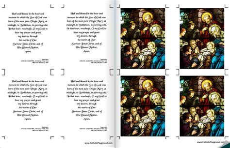 printable christmas novena saint andrew christmas novena catholic playground