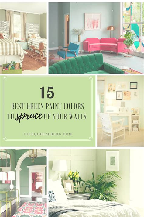 best green paint colors 15 best green paint colors to spruce up your walls the