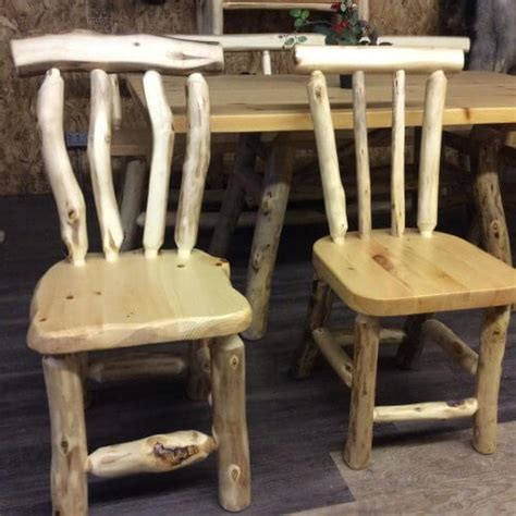 mates chair pioneer handcrafted log furniture