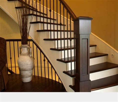 Stair Banisters Railings by Best 25 Indoor Stair Railing Ideas On Stair