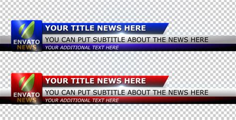 Simple Corporate Lower Third By Yeremia Videohive Lower Thirds Templates Premiere