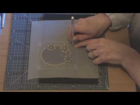 flash tutorial for beginners lesson 1 parchment craft beginners lesson 1 part 3 of 4 youtube