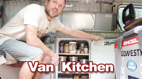 Tour Our Tiny Van Kitchen   Where's My Office Now?