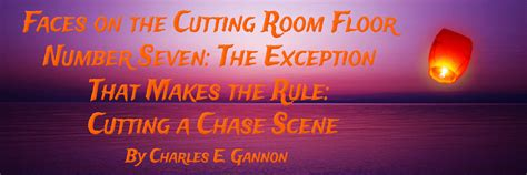 the cutting room floor nonfiction article categories