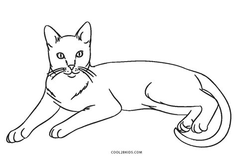 coloring pages of cats free printable cat coloring pages for cool2bkids