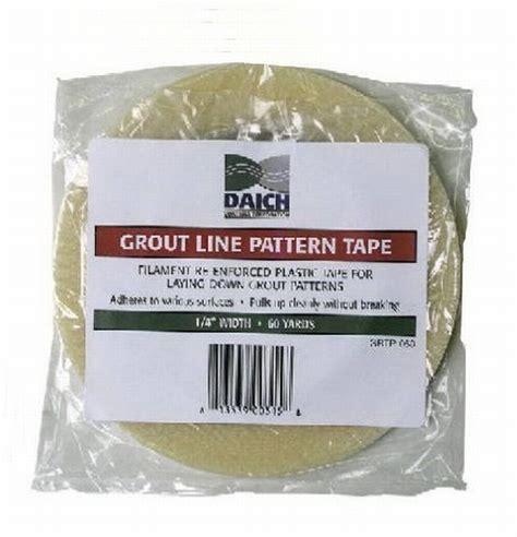 grout line pattern tape daich coatings corporation grtp 060 1 4in grout line