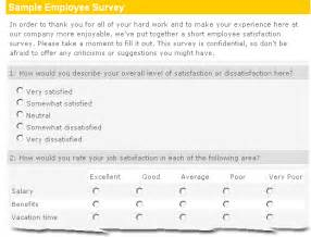 survey questions exles