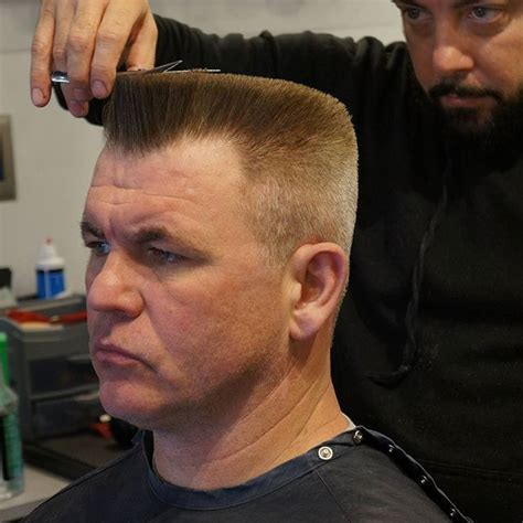 best hairstyle for with a flat back best 25 flat top haircut ideas on flat top