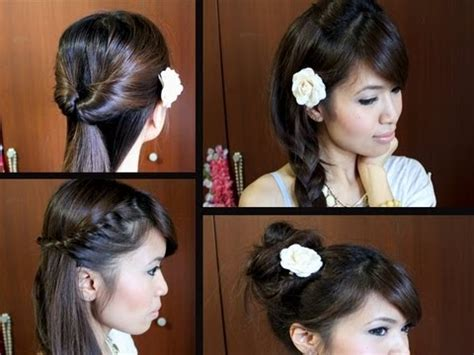 Really Easy Hairstyles For Medium Hair by Easy Back To Hairstyles For Long Medium Hair