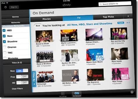 comcast xfinity gets 18 channel live tv boost