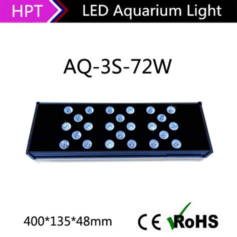 Lu Led Jepit Aquarium free wifi controller programmable 72w aquarium led