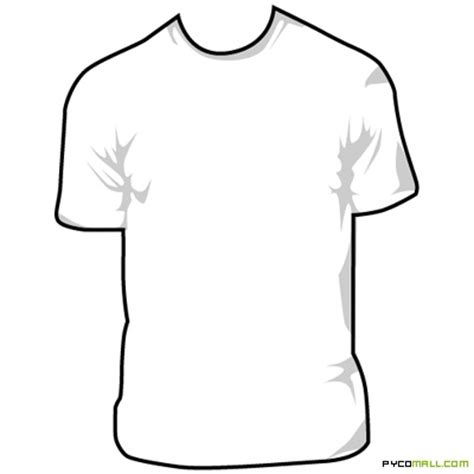 empty t shirt template blank shirt design clipart best