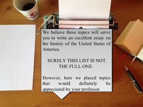 easy us history research paper topics list of easy us history research paper topics