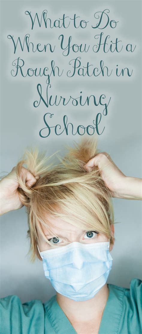 Nursing School Blogs - what to do when you hit a patch in nursing school