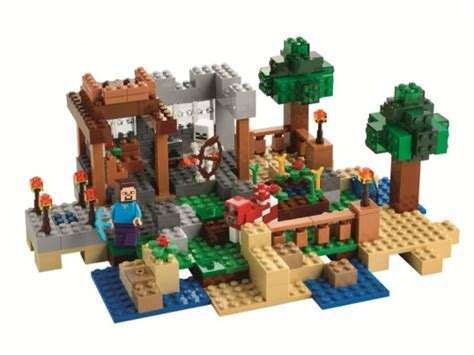 New Set Breseis by Lego S New Minecraft Sets Leak On Russian Shop