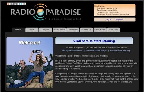 radio paradise radio paradise alternatives and similar software