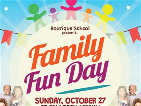 family day flyer template alternative family day flyers by kinzi wij dribbble