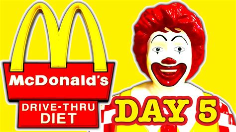 s day drive in mcdonald s drive thru diet day 5 the mcleo bad foods of