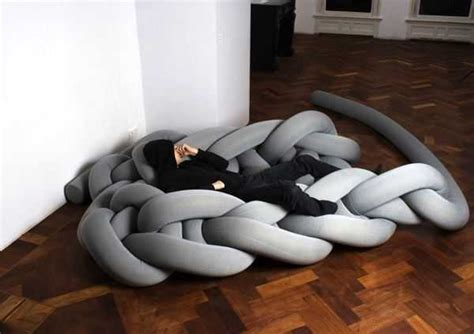 avant bed giant knitted contemporary furniture and floor rugs