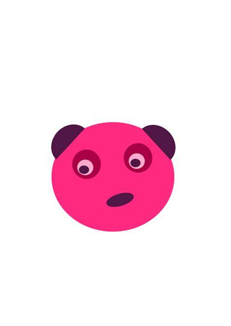 Panda Pink clipart pink panda