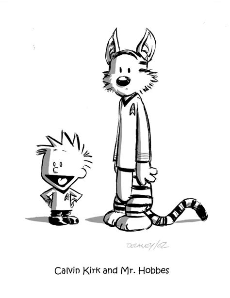 kim s calvin and hobbes page fan art