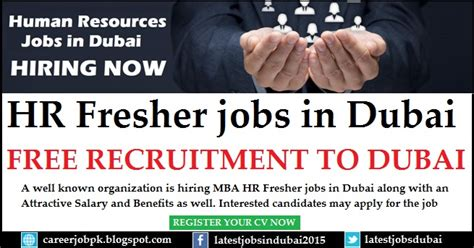 Dubai For Mba Hr by Hr Fresher In Dubai