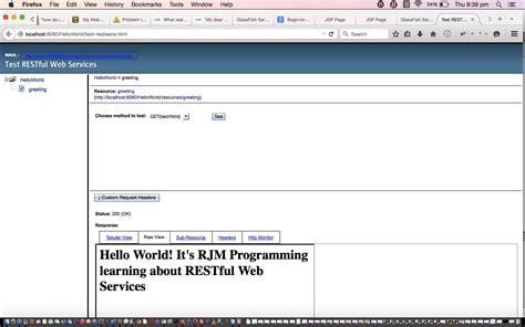 tutorial website java netbeans java ee restful web service primer tutorial