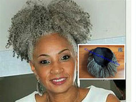 afro ponytail hairstyles afro kinky curly weave ponytail hairstyles clip ins gray