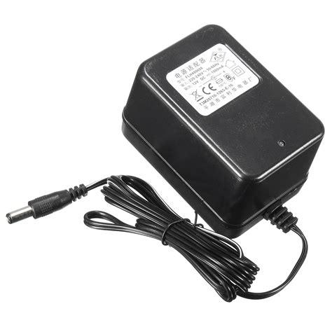alimentatore caricabatteria 12v alimentatore da 12v 1a batteria alimentatore per