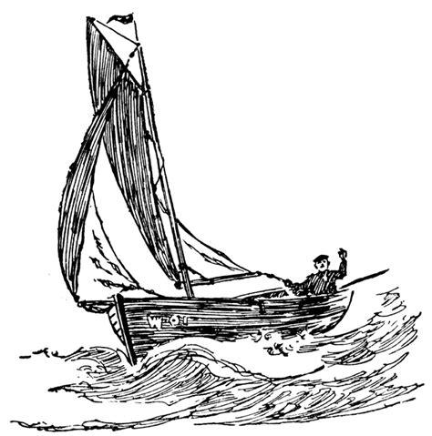 broken boat drawing fishing boat clipart etc