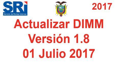 actualizacion dimm formularios 2016 actualizar dim formulario actualiza dimm formularios