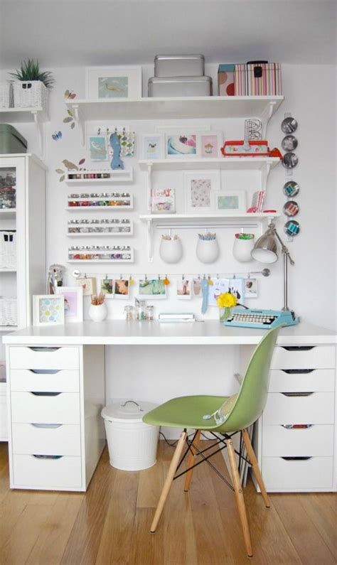 Ikea Craft Rooms 10 Organizing Ideas From Real Ikea Craft Desk Organization Ideas