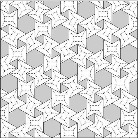 pattern grid architecture designcoding waterbomb tessellation and beyond