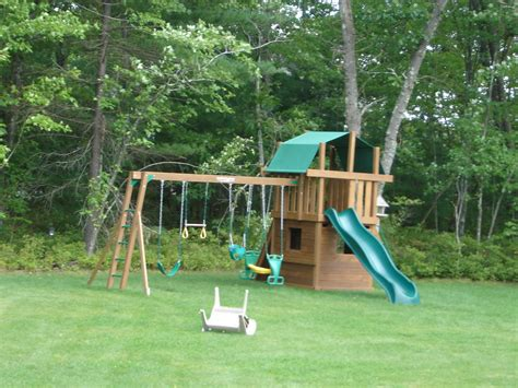 the groundskeeper inc backyard play area
