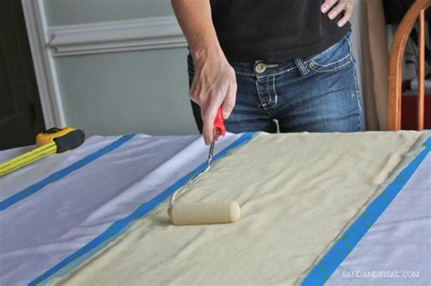 how to remove paint from curtains diy painted curtains sand and sisal