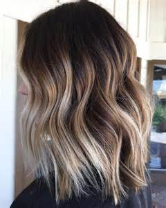 trendy brown balayage hairstyles  medium length hair
