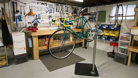 save money by setting up your own home bike workshop