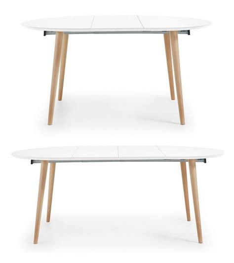 mesa nordica extensible 10 mejores ideas sobre mesa redonda extensible en