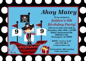 pirate birthday invitation pirate invitations