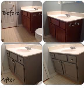 painted bathroom vanity diy