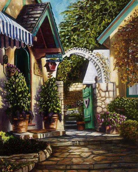 bed and breakfast carmel carmel bed and breakfast painting by christie michael