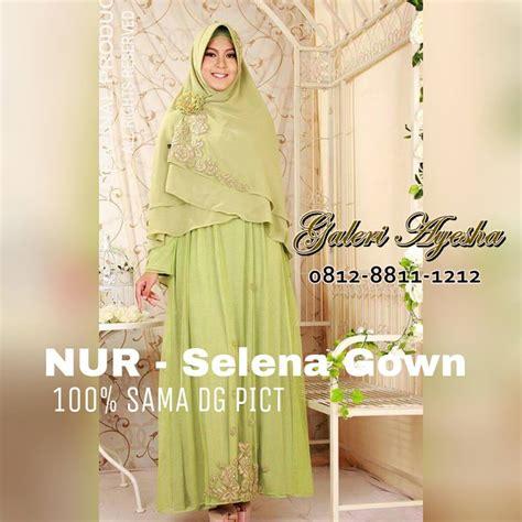 Selena Gown (made by order)   GALERI AYESHA   JUAL BAJU