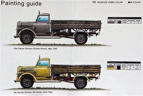 german opel blitz truck 1 48 kfz 305 opel blitz 4x4 3t german truck