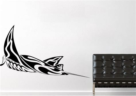 Manta ray tribal tattoo wild life wall stickers adhesive wall sticker
