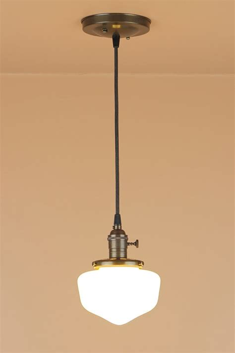 School House Pendant Light Pendant Lighting W Mini School House Globe Remodelista