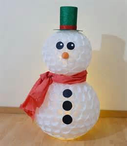 pupazzi di neve con bicchieri pupazzo di neve con bicchieri di plastica tutorial