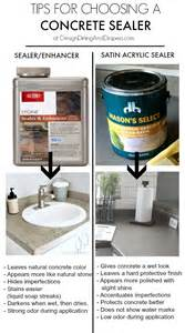 best 25 concrete sealer ideas on acid stained