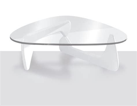 salon table basse twist table de salon en verre